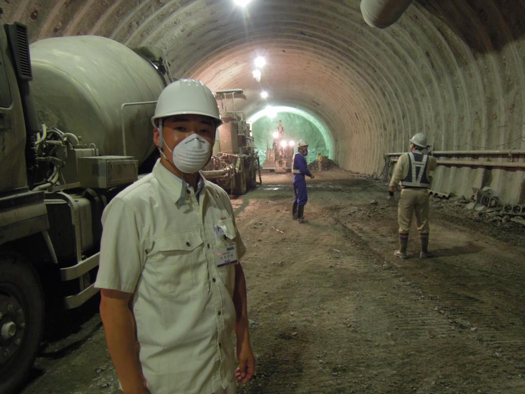 ⑧栗子トンネル工事(米沢市)(2013.5.21)(6)